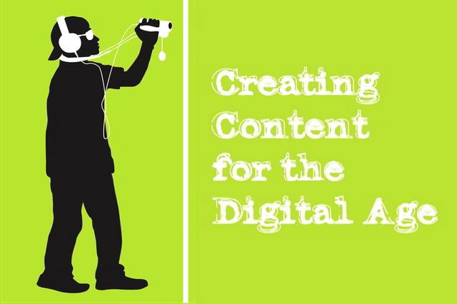 Dijital İçeriğin Üretimi