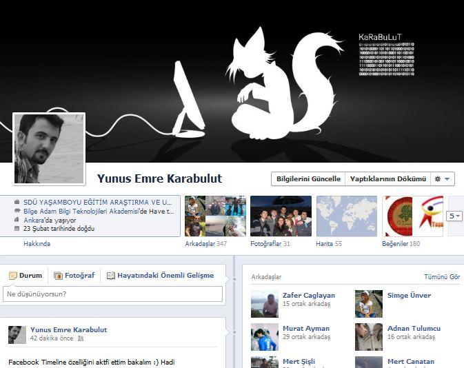 Facebook Timeline tüm kullanıcılara açıldı