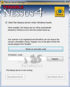 Nessus Security Scanner Kullanımı