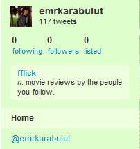 Twitter Sıfırlandı !